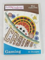 Anita Goodesign Gaming Machine Embroidery CD