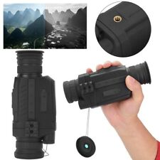 5X Digital Infrared Night Vision Monoculars Rechargeable Picture Video Recorder