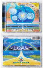 OLIVER SHANTI & FRIENDS Rainbow Way .. 1987 Sattva Goldfarbene CD TOP