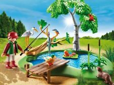 Playmobil Country Fishing Water Pond Playset 6816 39pcs