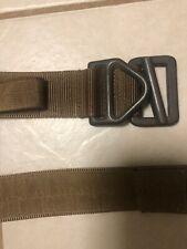 Bellum Designs Tactical Cobra Buckle Riggers Belt LARGE (L) Coyote Tan