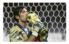 GIANLUIGI BUFFON - ITALY AUTOGRAPHED SIGNED A4 PP POSTER PHOTO 1