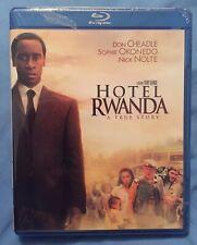 New listing Hotel Rwanda Blu-Ray Don Cheadle 2004 Oop New Sealed