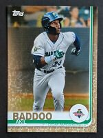 Akil Baddoo - Tigers ULTRA RARE #/50 GOLD SSP 🔥💎 2019 Topps Pro Debut - MINT