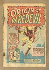 Daredevil #1 Coverless 0.3 1964 1st app. Daredevil, Karen Page, Foggy Nelson