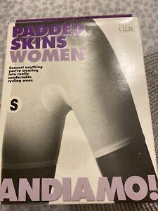 Andiamo Clothing Shorts Pad Skins Women's Black Small