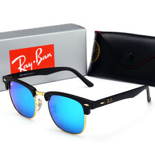 Sunglasses ₅Rayban ₅RB3016#& Classic Clubmaster Variations Black Ice Blue 48MM