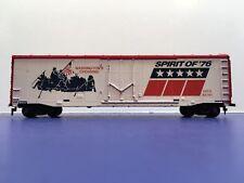 "HO Scale ""Washington's Crossing - Spirit Of 76"" GATX 85761 Freight Train Box Car"