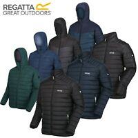 Regatta Mens Padded Quilted Hooded Golf Hiking Jacket Massive Clearance RRP £70