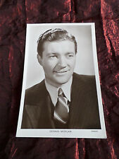 DENNIS MORGAN  - FILM STAR -  VINTAGE PICTUREGOER  POSTCARD - #1405