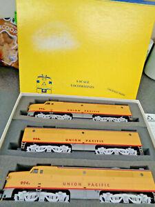 American Models S Gauge Union Pacific Alco PA 1 A-B-A, AC High Rail In Orig. Box