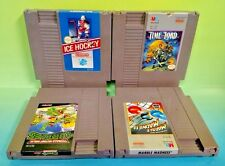 Marble Madness Time Lord Ice Hockey Ninja Turtles Nintendo NES Games Rare Tested