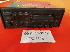 Audio Equipment Radio Am-fm-cassette Without CD Player Fits 89-92 PROBE 414923