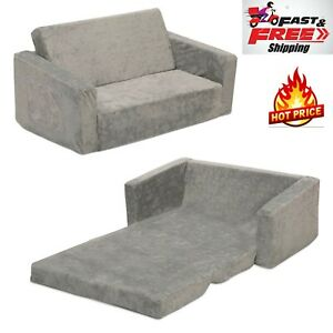 Flip Chair Bed Sofa Convertible Couch Futon Sleeper Lounger Comfy Small Room NEW