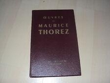 oeuvres de MAURICE THOREZ