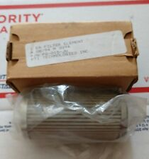 New Lot of 2 PTI-TEXTRON-PG015JU Hydraulic Filter Element  List $85 each  SAVE!