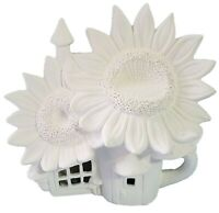 "Sunflower Palace fairy house 9"" x 9""  Ceramic Bisque ready to paint"