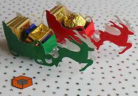 10 x REINDEER & SLEIGH ~ 🎄~ Christmas Dinner ~ 🎄~ Favour Boxes 🇬🇧🇬🇧🇬🇧