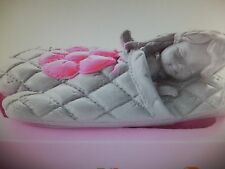 Silicone Addormentato Baby Girl Guanto Di Stampo Battesimo Topper Per Torta