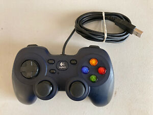 Logitech Gamepad F310 Wired PC USB Controller Direct Input X Input Switch Tested