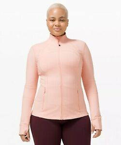 NWT Authentic lululemon define jacket in Pink Must Size 12. in wrapper!