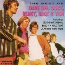 Dave Dee, Dozy, Beaky, Mick & Tich Best of (12 tracks, 1993)  [CD]