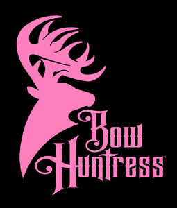 Bow Huntress Bowhunting decal sticker,bowhunter,girls,bowhunting,bow case camo