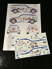DECALS 1/24 FORD ESCORT ROUSSELOT RALLYE DE L'YONNE 1997 WRC RALLY TAMIYA