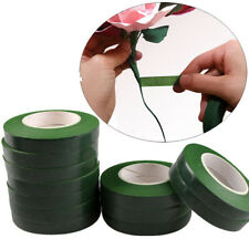 12mm 30 Yards Green Color Paper Tape for Nylon Stocking Flower Butterfly New