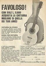 X4646 Chitarra da studio - Società LA BASE - Pubblicità 1975 - Advertising