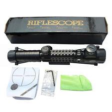 3-9X32EG Red/Green Crosshair Adjustabel Rifle Scope  20mm Mount Reticle SBEDAR
