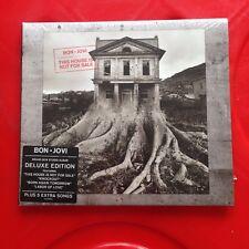 BON JOVI-This House Is Not For Sale-Deluxe Edition-CD-BRAND NEW-Bonus Tracks