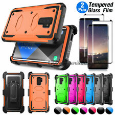 For Samsung Galaxy S9 / S9 Plus Phone Hard Case With Rotating Belt Clip Holster