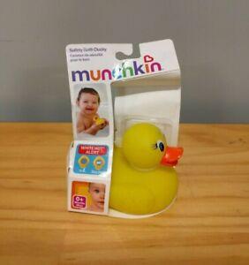 New Munchkin White Hot Safety Bath Ducky 0+