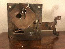 Original Antique Iron Lock And Key XVI -XVII Century Spaniard Colony
