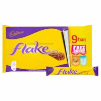 Cadbury Flake Chocolate bars 9 pack from England, UK  - Free shipping to USA