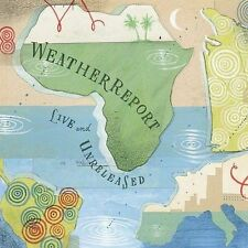 Weather Report Live and Unreleased (2CDs, Oct-2002,, Legacy) BRAND NEW OOP L@@K