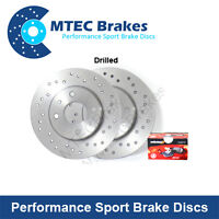 Mercedes CLS Coupe 500 C219 05- Front Drilled Brake Discs and Pads