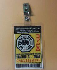 Lost Télévision Séries Identification Badge -chief De Électromagnétique Swan