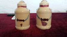 Salt and Pepper Shakers Milk Can, Shawnee