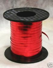 "Mirror Red 3/16"" Curling Ribbon 250 Yards Spool"