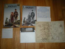 Lancelot Commodore 64 C64 game + CLUE BOOK COMPLETE