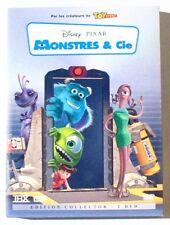 2 DVD MONSTRES & CIE - DISNEY PIXAR - EDITION COLLECTOR