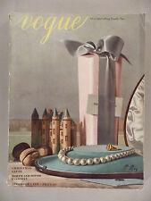 Vogue Magazine - December 1, 1937