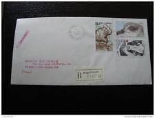 TAAF lettre 2/3/83 - timbre - yvert et tellier n° 81 82 aérien 55 (cy4)