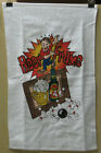 """w Master Bowling Towel 11"""" X 18"""" BEER FRAME Poly Bag"""