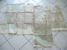 alte Heeres Karten 2 WK Süd Russland Truppenausgabe von 1.II 1942 1 : 100000