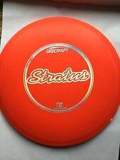 Discraft Red Stratus Driver Pro D 167-169G Long Range Disc Golf (-1 Rc) (1Dg)