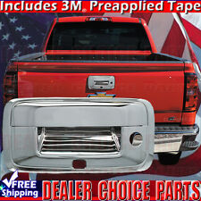 2014 2015 2016 2017 2018 SILVERADO SIERRA Chrome Tailgate Handle COVER W/BUChole