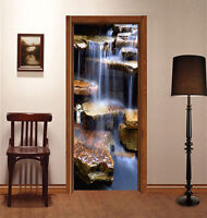 3D stone nature Door Wall Mural Photo Wall Sticker Decal Wall AJ WALLPAPER US